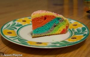 Tasty Rainbow Cake